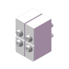 曲折尝试/夹钳面板规格(4侧弯R规格)(尝试夹具)