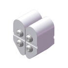 曲折尝试/夹钳面板规格(2侧弯R规格)(尝试夹具)