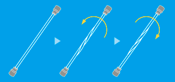 Torsion Test for Linear Object (Test Jig)