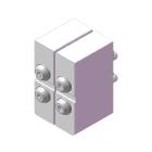 弯曲试验/夹钳面板规格(4侧弯R规格)(试验夹具)