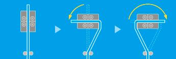 屈曲試験/クランプ面板仕様(4辺曲げRブロック仕様)(試験治具)