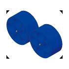 屈曲試験 [Φ300面板仕様](試験治具)