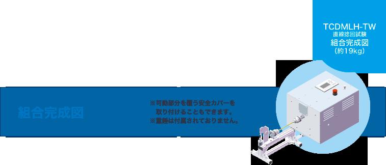 直線捻回試験 [TCDMLH-TW]