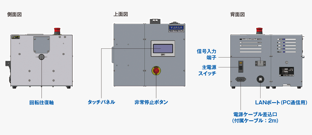 小型卓上型耐久試験機