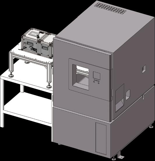 組合完成図(既存の恒温恒湿槽に設置する場合)